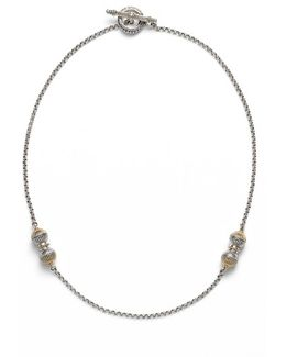'hebe' Short Station Necklace