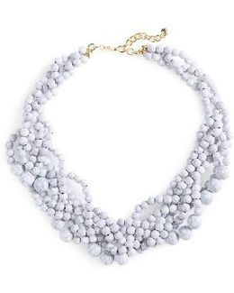 'bubblestream' Collar Necklace