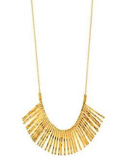 'kylie' Fan Necklace