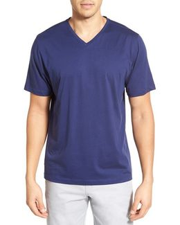 'sida' Regular Fit V-neck T-shirt