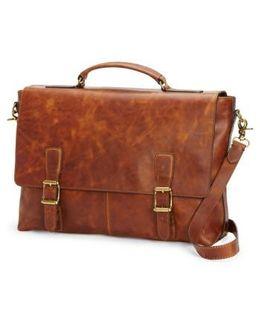 'logan' Leather Briefcase