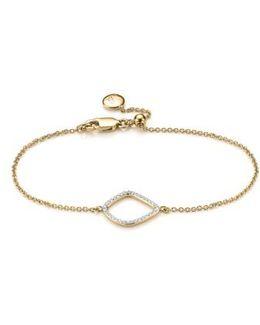'riva' Diamond Charm Bracelet