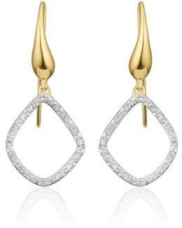 'riva Kite' Diamond Drop Earrings