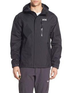 'vancouver' Packable Rain Jacket, Black