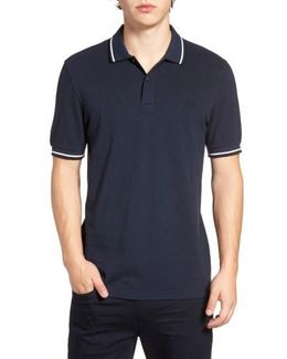 Extra Trim Fit Twin Tipped Pique Polo