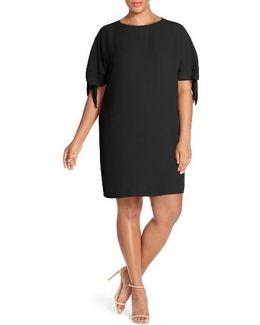 Cold Shoulder Shift Dress