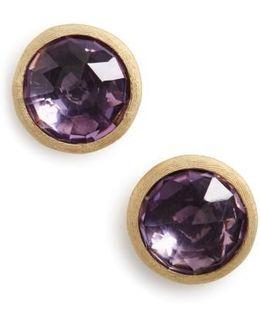'jaipur' Stone Stud Earrings