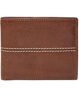 'turk' Leather Rfid Wallet