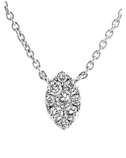 Mini Marquise Pave Diamond Pendant Necklace (nordstrom Exclusive)