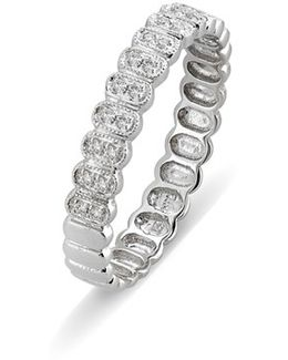 Diamond Oval Stacking Ring (nordstrom Exclusive)