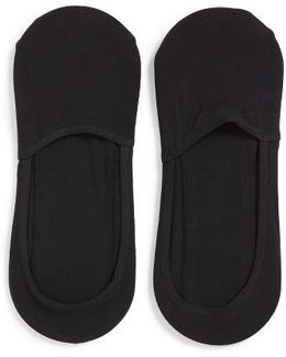 2-pack No-show Socks, Black