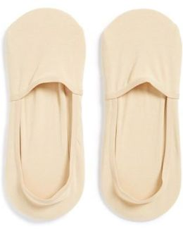 2-pack No-show Socks, Beige