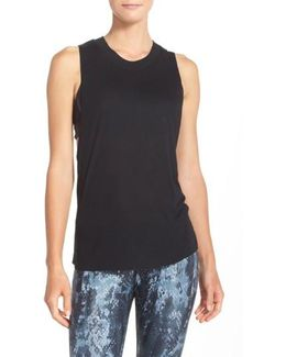 Heat Wave Ribbed Muscle Tee