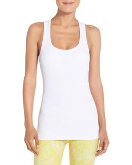Support Ribbed Racerback Tank