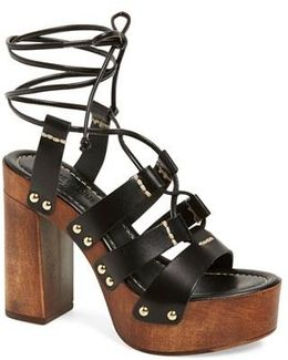 'kenzie' Lace-up Sandal