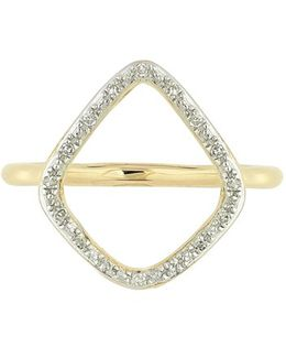 'riva' Diamond Hoop Ring