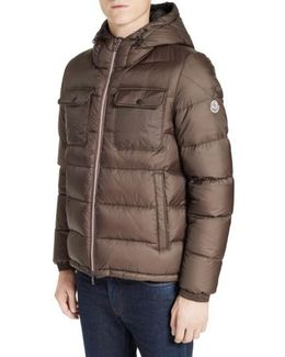 Morane Hooded Down Quilted Jacket