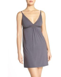 Barefoot Dreams 'luxe Milk' Jersey Chemise