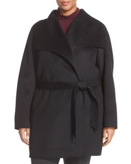 Tahari 'ella' Wrap Coat
