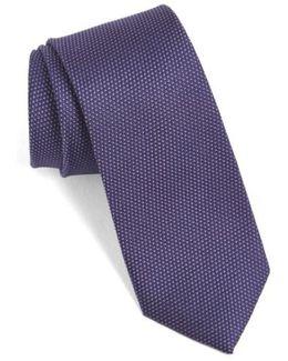 'madison' Solid Silk Tie