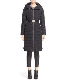 Imin Belted Quilted Shell Down Coat