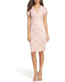 Lace Sheath Dress