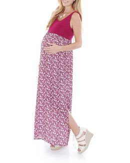 'maisie' Maternity Maxi Dress