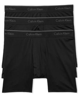 3-pack Stretch Boxer Briefs, Black