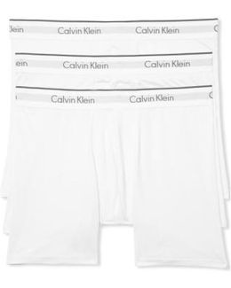3-pack Stretch Boxer Briefs, White