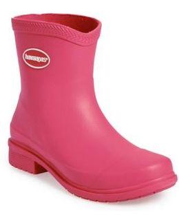 'galochas Low Matte' Waterproof Rain Boot