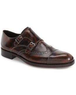 'ziggy' Double Monk Strap Shoe