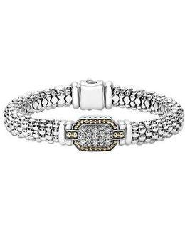Diamonds & Caviar Large Diamond Bracelet