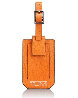 'camden' Leather Luggage Tag
