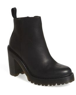 Magdalena Leather Ankle Boots