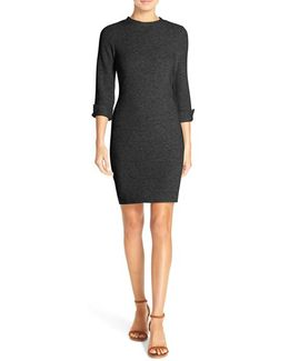 Summer Sudan Knit Sheath Dress