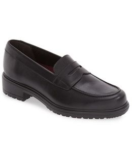 Jordi Leather Loafers