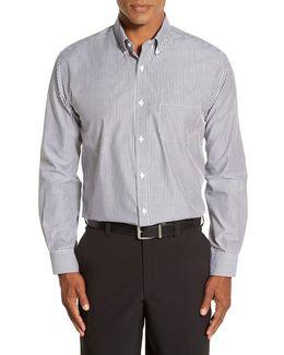 'epic Easy Care' Regular Fit Mini Bengal Stripe Sport Shirt