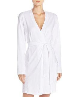 Stretch Cotton Robe