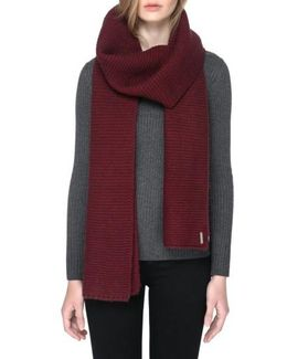 Extra Long Knit Scarf