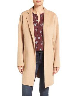 Double Face Wool-Blend Coat