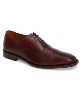 'exchange Place' Cap Toe Oxford