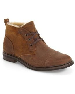Ugg 'galen Bomber' Genuine Shearling Boot