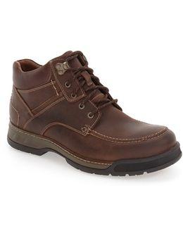 Waterproof Moc Toe Boot