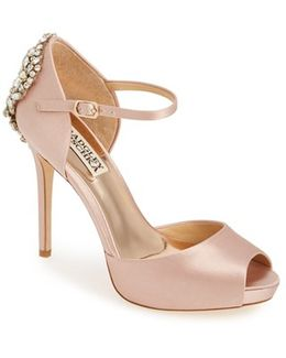 Dawn Crystal Back D'orsay Pumps