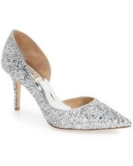 'daisy' Embellished Pointy Toe Pump (women)