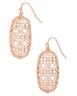 Elle Filigree Drop Earrings