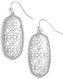 Elle Openwork Drop Earrings