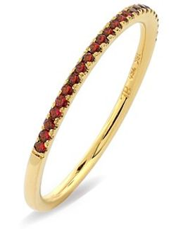 Stackable Gem Straight Band Ring (nordstrom Exclusive)