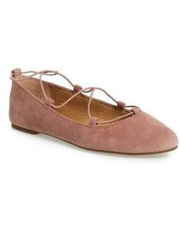 'aviee' Lace-up Flat
