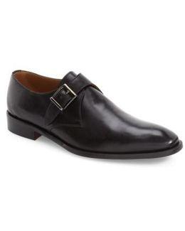 Suit Coat Monk Strap Shoe